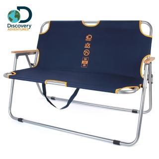【Discovery Adventures】戶外便攜雙人椅(雙人椅 戶外椅 附收納提袋 原價$3000)
