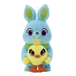 【T-ARTS】動趣說話Ducky&Bunny(玩具總動員4 人偶)