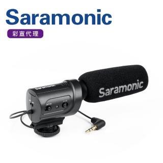 【Saramonic 楓笛】指向性電容式麥克風 SR-M3(彩宣公司貨)