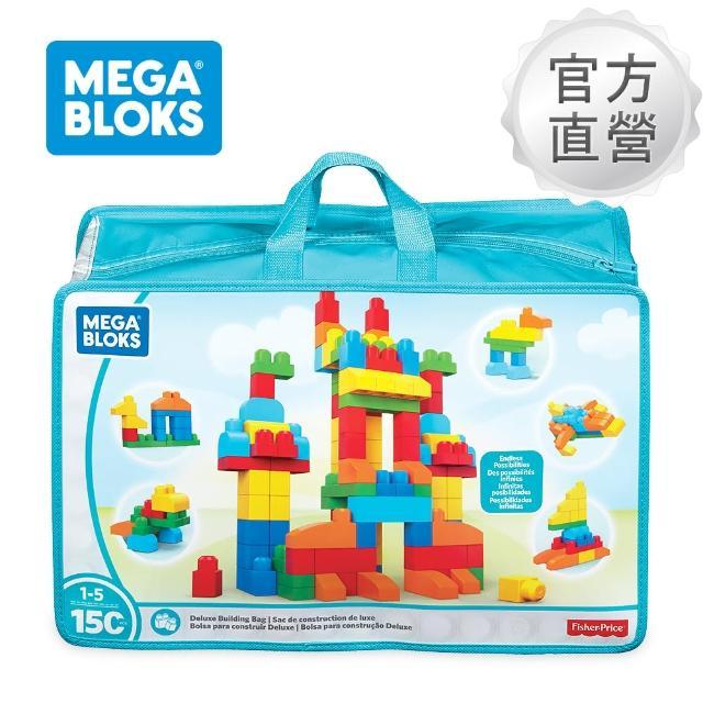 【奇哥】MEGA BLOKS 費雪美高 150片積木袋