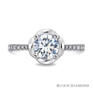 【RUIEN DIAMOND 瑞恩鑽石】GIA30分 D VVS2 3EX(18K白金 鑽石戒指)