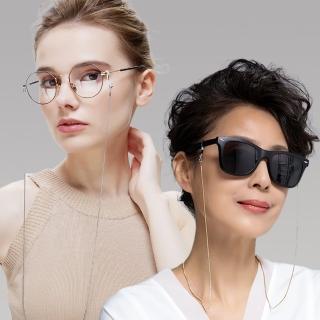 【Seoul Show首爾秀】圓蛇防滑太陽眼鏡鍊平光老花眼鏡防丟鍊(墨鏡平光適用)