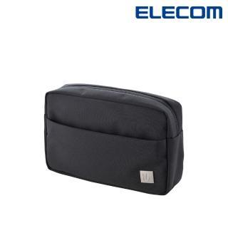 【ELECOM】UB簡約小物收納包-黑灰(BMA-UBGP01BK)