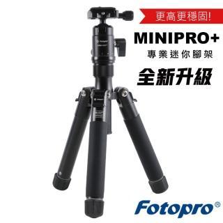 【FOTOPRO】富圖寶 Mini-Pro+ 腳架 新改版(minipro + 含腳架袋 湧蓮公司貨)