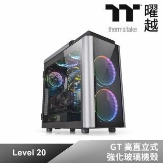 【Thermaltake 曜越】曜越Level 20 GT 高直立式強化玻璃機殼(CA-1K9-00F1WN-00)