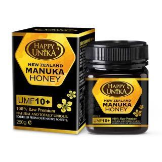 【Happy Unika佑爾康金貝親】麥蘆卡蜂蜜UMF10 250g(紐西蘭進口)