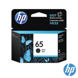【HP墨水1黑1彩組】HP 65原廠墨水匣(N9K02AA/N9K01AA)