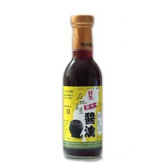 【民生】民生在地黑豆原味醬油300ml(在地黑豆醬油)
