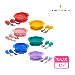 【MARCUS&MARCUS】動物樂園寶寶握握學習禮盒組(多款繽紛任選)