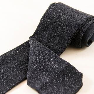 【公主童襪】黑色閃耀蔥超細纖維兒童褲襪(0-12歲)- 5歲以下止滑