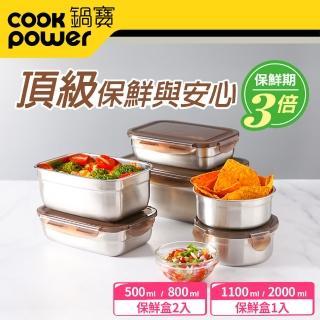 【鍋寶】316不鏽鋼保鮮盒強打6入組(EO-BVS20110801Z205Z2)