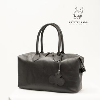 【CRYSTAL BALL狗頭包】Clover Leather Boston Bag波士頓包(狗頭包)