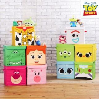 【網狐家居】玩具總動員方形摺疊收納箱(10款任選)