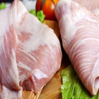 【海之醇】20包組-台灣霜降松阪豬(180g/包)