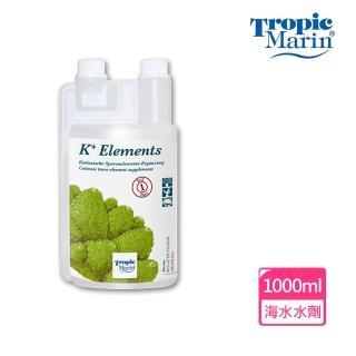 【Tropic Marin】K+陽離子微量元素-1000ml(適合軟體、皮革類珊瑚、硬骨LPS、SPS和大型蛤、甲殼類動物)