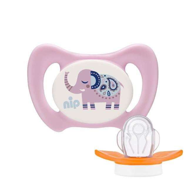 【nip】齒科專用奶嘴牙仙子系列 粉嫩款(第2階段-初長牙期)