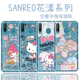 【SANRIO 三麗鷗】三星 Samsung Galaxy A40s 花漾系列 氣墊空壓 手機殼
