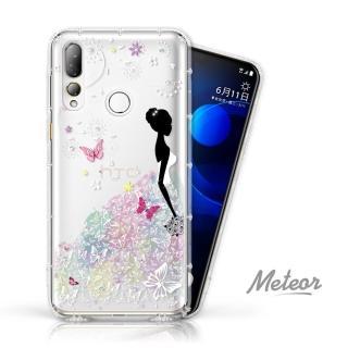 【Meteor】HTC Desire 19+ 奧地利彩鑽空壓防摔手機殼(花嫁)