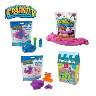 【Mad Mattr】瘋狂博士MM沙入門款創意4件組(MM沙+立體包+方塊包+城堡模具)