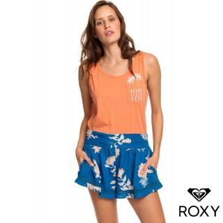 【ROXY】BOHO DREAMS(絲質短褲 藍)