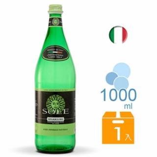 【SOLE 索蕾】Sole L'ITALIANA 索蕾經典款氣泡礦泉水 1000ml