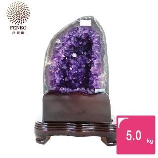 【菲鈮歐】開運招財天然烏拉圭紫晶立洞 5.0kg(GC30)