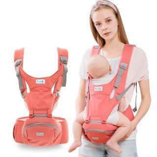 【yoda】二階段輕巧儲物座椅式揹帶(活力橘)