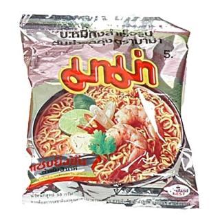 【蘋果市集】泰國MAMA媽媽蝦味麵(55g/包*30包入)