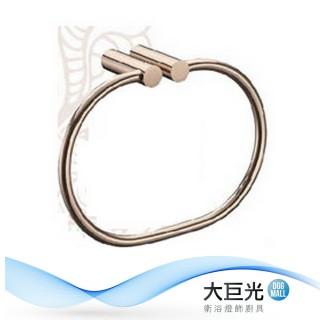 【大巨光】玫瑰金銅毛巾環(P-34ROSE)