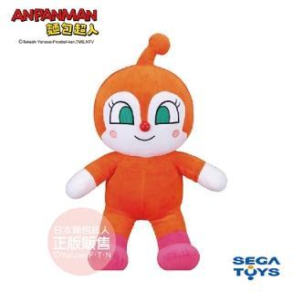 【ANPANMAN 麵包超人】蓬蓬微笑布偶S-PLUS 紅精靈(1.5歲-)