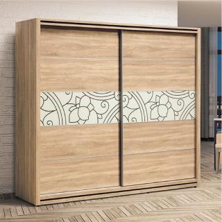 【AS】京香7尺推門衣櫥-212.4x60.3x197cm