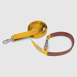【SPUTNIK 斯普尼克】EXPLORE 寵物牽繩Leash(黃色M)