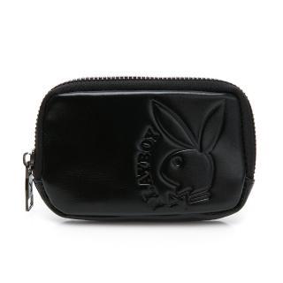 【PLAYBOY】零錢包   rabbithead系列(黑色)