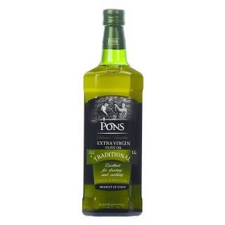 【PONS 龐世】公司貨正品-特級冷壓初榨橄欖油1000ml(橄欖油 高檔於 花生油 大豆 沙拉油)