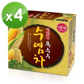 【NOKCHAWON】韓國玉米鬚茶包*4盒組(50入/盒)