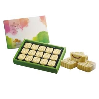 【一之軒】15入綠豆冰糕禮盒 四組(綠豆.冰心紅豆餡.配茶小點)