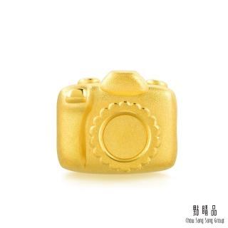 【點睛品】Charme 帶我去旅行-相機 黃金串珠