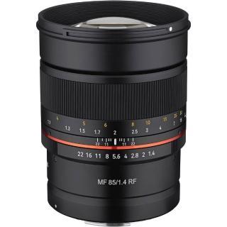 【韓國SAMYANG】MF 85mm F1.4 手動對焦鏡頭(公司貨 CANON RF接環)