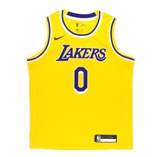 【NIKE】SWINGMAN ICON JERSEY 中大童 籃球背心(WZ2B7BZ2P-LAKKK)