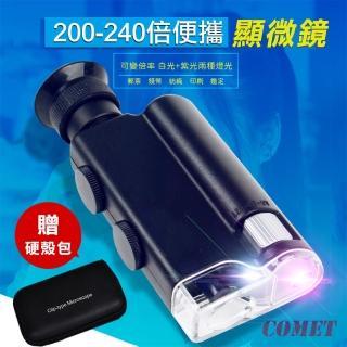 【COMET】隨身LED高倍顯微鏡(7752)