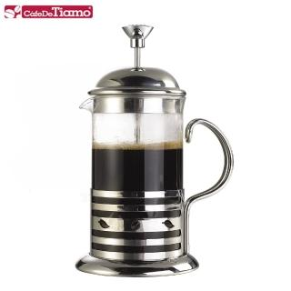 【Tiamo】新歐風濾壓壺 4杯 700ml(HA4104)