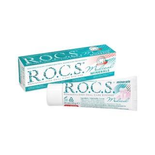 【R.O.C.S.】再礦化修護琺瑯質凝膠晚安面膜 甜蜜水果 35ml/45g