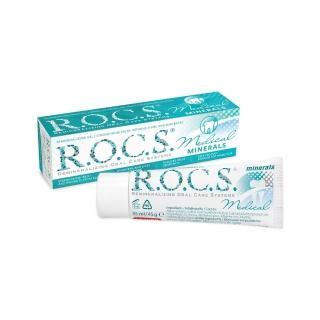 【R.O.C.S.】再礦化修護琺瑯質凝膠晚安面膜 口氣清新 35ml/45g