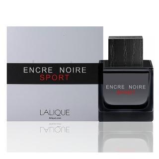 【LALIQUE 萊儷】Encre Noire Sport 黑澤運動淡香水(50ml)