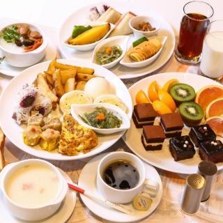 【電子票券】台南榮美金鬱金香酒店2人自助式早午餐(假日不加價)