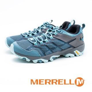 【MERRELL】MOAB FST 2 GORE-TEX 郊山健行鞋 女鞋(藍)