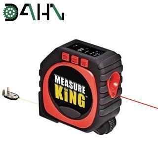 【DAHN達恩】三合一LED數顯紅外線激光測距儀/工程測量卷尺3M