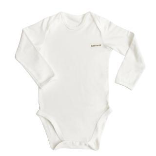 【Edenswear 伊登詩】氧化鋅纖維嬰兒長袖包屁衣(德國進口原料從原紗到車縫台灣製造)