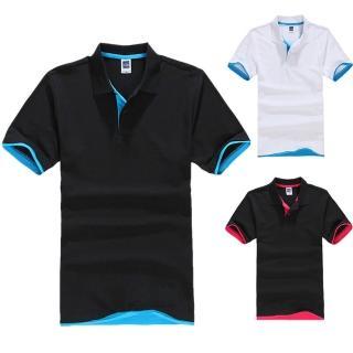 【CPMAX】短袖撞色polo衫 polo短袖 男生polo衫 polo上衣 撞色短袖 短袖上衣撞色 男短袖上衣(T28)