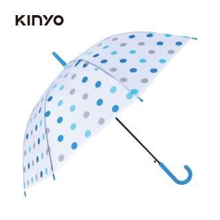 【KINYO】21吋花漾環保自動傘(KU-8020)/